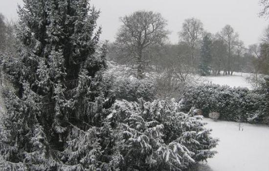St Do sous la neige