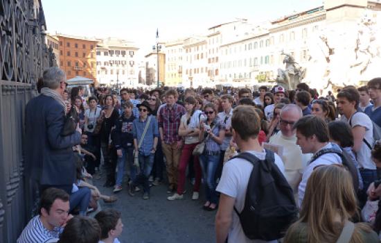 Voyage des Terminales à Rome - mars 2014