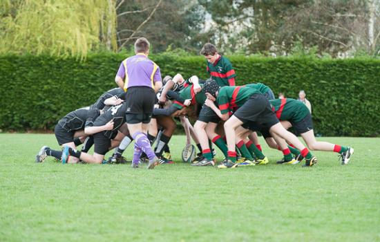 Match de rugby St-do / Ecosse du 21 mars 2014