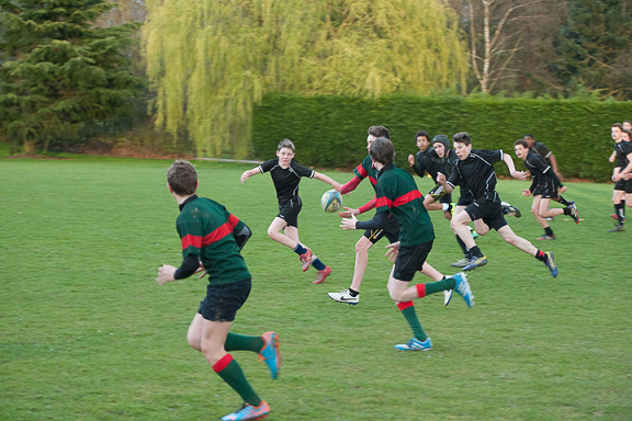 Match de rugby St-do / Wellington School du 21 mars 2014